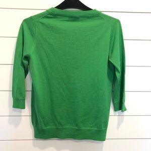J. Crew Sweaters - J. Crew Merino Wool Sweater Green